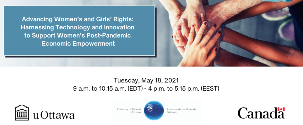 Harnessing Technology and Innovation to Support Women's Post-Pandemic Economic Empowerment